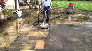 Patio Stone Pictures by Natural Stone Cleaning Www Yorkshiredrivewaycleaning Co Uk Youtube