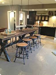 Farm House Kitchen Table by Herringbone Table New Wood Project Pinterest