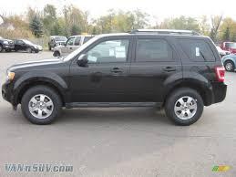 Ford Escape Black - 2011 ford escape limited v6 4wd in tuxedo black metallic a67665