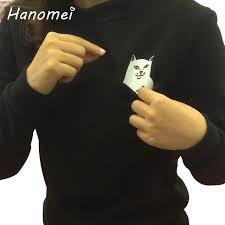 shop funny spoof cat hoodie deal llama