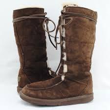 ugg shoes australia brown boots poshmark ugg shoes australia 5190 uptown ii brown boots sz 6 poshmark