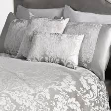white and silver duvet cover sweetgalas bedding wonderful bed