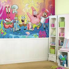 Popular Characters Murals Roommates Roommates Decor Spongebob Squarepants Xl Chair Rail Prepasted
