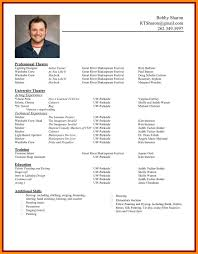 application resume format 7 format of cv for application manager resume