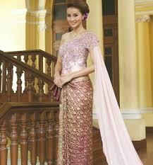 Thai Wedding Dress 96 Best Thai Celebs Thai Wedding Clothes Images On Pinterest