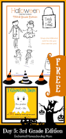 halloween coloring sheets 3rd graders flapjack educational