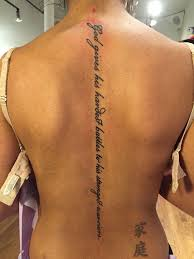 Quote Tattoos On - 25 best spine quote tattoos ideas on quote