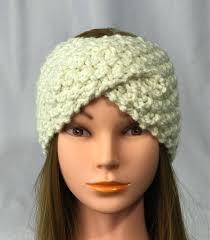 crochet ear warmer headband free shipping knitted ear warmer headband winter handmade twist