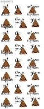 best 20 decorative stickers ideas on pinterest wall decor poop emoji stickers planner stickers inspirational by unhipprints decorative
