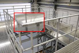 Steel Handrails For Steps Industrial Tube Connectors For Railing And Stair Systems