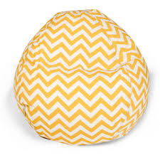zig zag bean bag chair for kids at brookstone u2014buy now