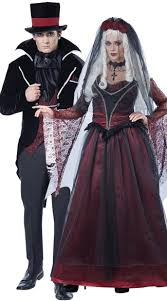 Halloween Bride Groom Costumes Vampire Bride Costume Vampire Costume Vampire Gown Costume