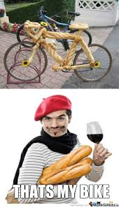 French Meme - just the average french bike by snajath meme center