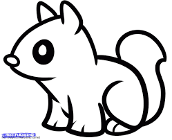 draw cute baby animals drawing of sketch