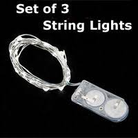 battery operated candles battery string lights