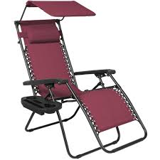 zero gravity chair w canopy sun shade burgundy u2013 best choice