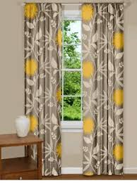 glamorous modern yellow kitchen curtains innovation design trendy
