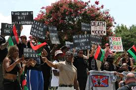 Black Flag American Waste In Photos At The Kkk U0027s South Carolina Confederate Flag Rally