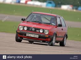 volkswagen gti racing red mark 2 volkswagen golf gti 16v car racing on a circuit in the