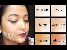 choosing a lshade how to choose the right foundation shade beginner indian skin tone
