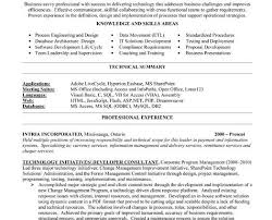 best consultant resume template technology consultant writing