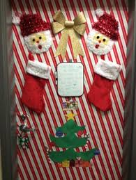 bottom of the door to our decorated for crafts