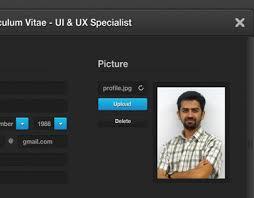 Ux Designer Resume Sample Ui Designer Resume Template On Behance