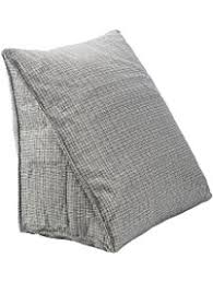 bed pillow for reading shop amazon com reading bed rest pillows