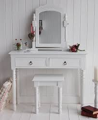 white bedroom dressing table chite dressing table new england classic handles home sweet