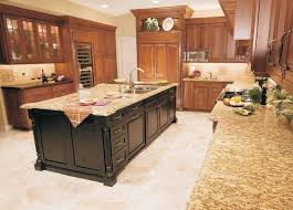 Veneer Kitchen Backsplash Granite Countertop Walnut Veneer Kitchen Cabinets Stainless And