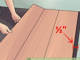 awesome laying laminate flooring concrete how to lay laminate