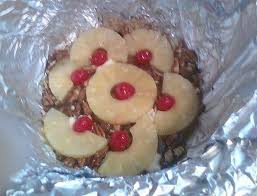crock pot pecan pineapple upside down cake lovefoodies
