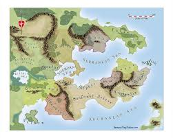 Blank Fantasy World Map by Create A Fictional Map Free On Create Images Let U0027s Explore All