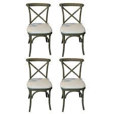Restoration Hardware Bistro Chair Restoration Hardware Caned Bistro Chairs Set Of 4 Chairish