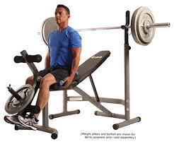 Leg Developer Bench Body Champ Olympic Weight Bench With Leg Developer Gray Silver