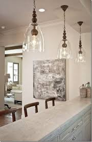 Glass Pendant Lighting For Kitchen Clear Glass Pendant Lights Spurinteractive