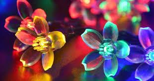 Fairy Lights Amazon Amazon Fairy Blossom Flower Solar Led String Lights Only 5 40