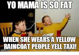 Yellow Raincoat Girl Meme - yo mamaisso fa when she wears a yellow raincoat people yell taxi