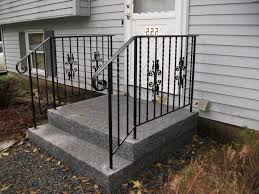 awesome exterior wrought iron stair railing kits verambelles