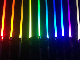Light Saber Color Meanings My Lightsaber Color Collection Youtube