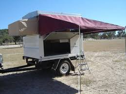 Trailer Awning Camper Trailers Ezi Up Camper Ezi On Trailer With Awning