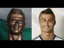 Cristiano Ronaldo Meme - la statua orribile di cristiano ronaldo youtube