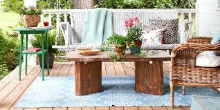 patio ideas a bistro set placed on a small flagstone patio makes