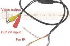 mini cam security wiring diagram infared mini wiring diagrams