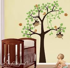 Nursery Tree Wall Decal by Decoration Ideas Good Looking Baby Nursery Room Decoration Using