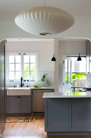 Benjamin Moore Chelsea Gray Kitchen by Before After A Cool And Confident Kitchen In La By Project M