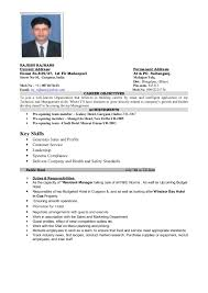 Hospitality Resume Samples by Download Hotel Resume Haadyaooverbayresort Com