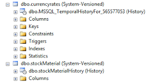 sql 2016 temporal table create sql server 2016 temporal table and history table