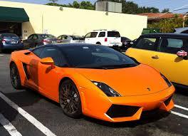 Lamborghini Gallardo Black - orange black lamborghini gallardo with black roof black rims