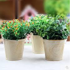 Tin Flower Vases Compare Prices On Tin Flower Vase Online Shopping Buy Low Price